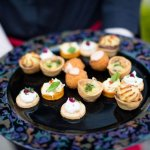 Wedding canapes at The Red Door