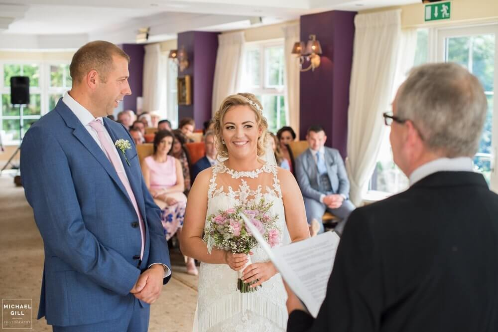 Civil Ceremony at The Red Door
