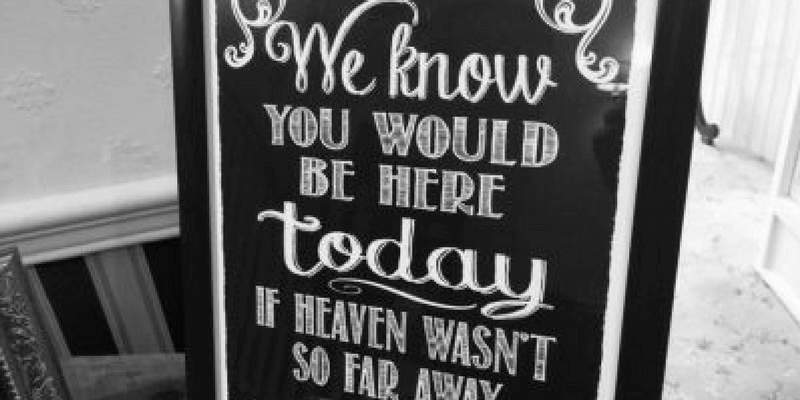 Remembering Lost Loved Ones at Your Wedding