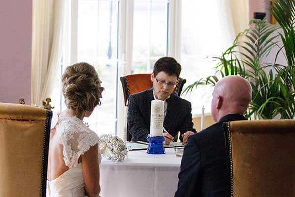 Civil Wedding Ceremony | Civil Wedding Ceremonies At The Red Door Donegal