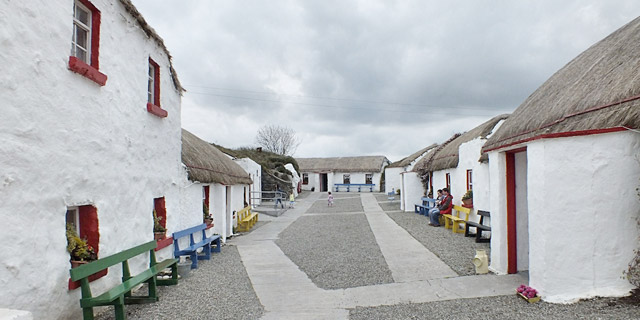 Doagh Famine Village, Doagh Island